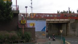 Newcastle - Metro stop Wallsend